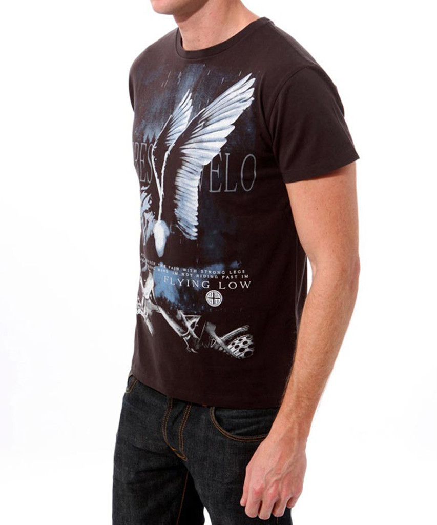 Flying Low Apres Velo men's t-shirt - Side View