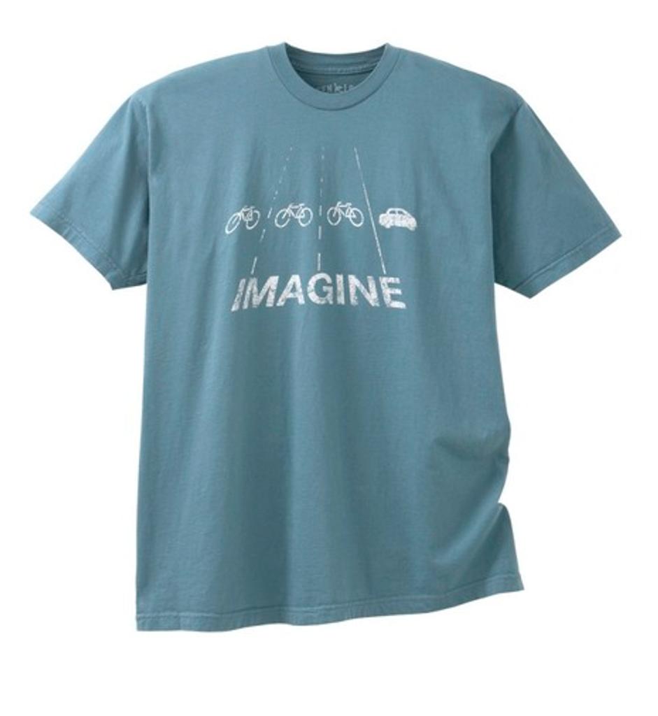 Imagine women's 100% organic cotton t-shirt by Green Label