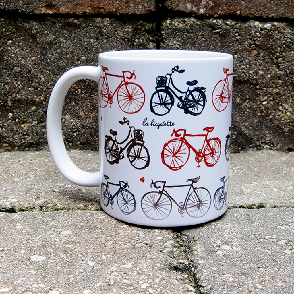 La Bicyclette BicycleGifts Coffee Mug