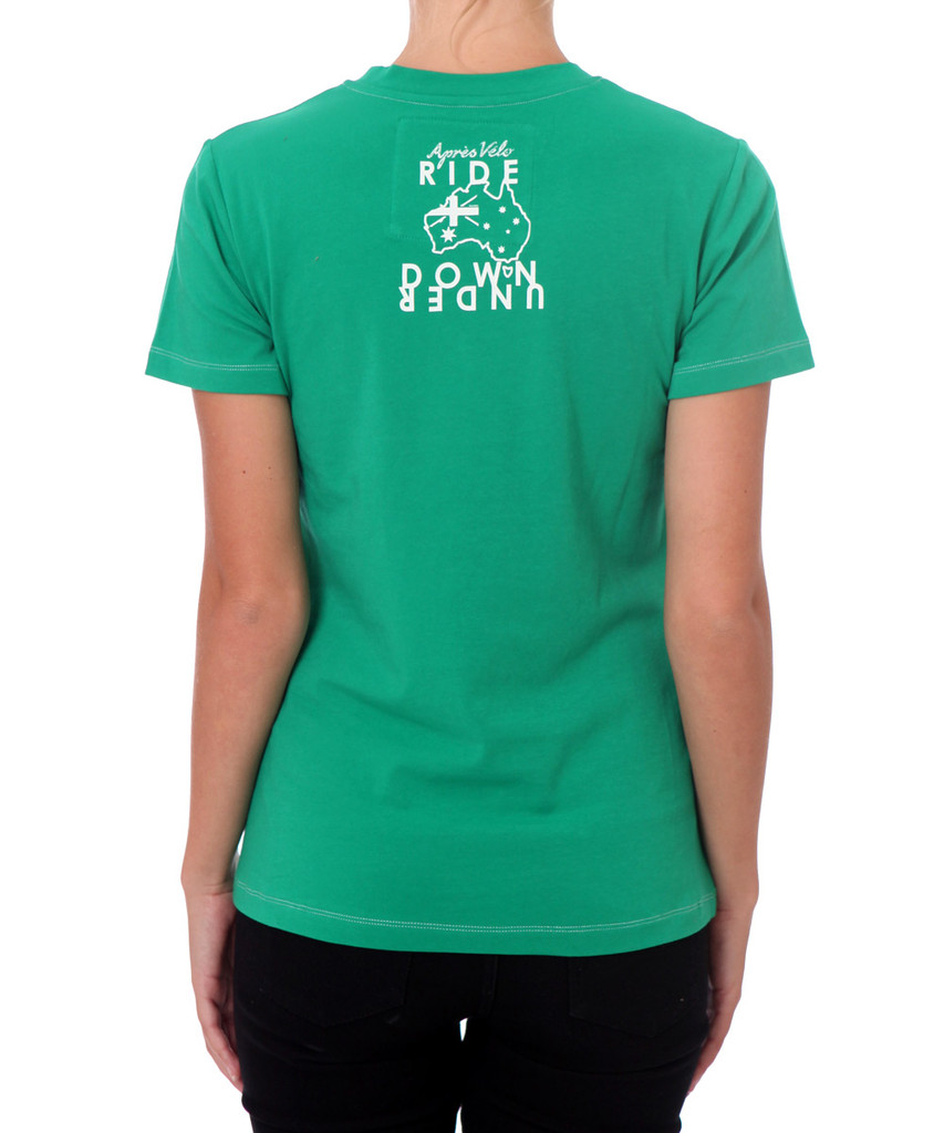 Victor Harbor Apres Velo Women's T-shirt - Back