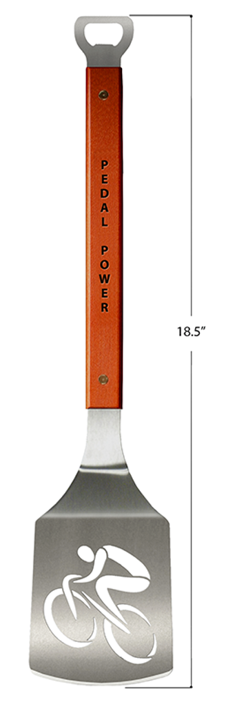 Pedal Power Stainless Steel Barbecue Spatula