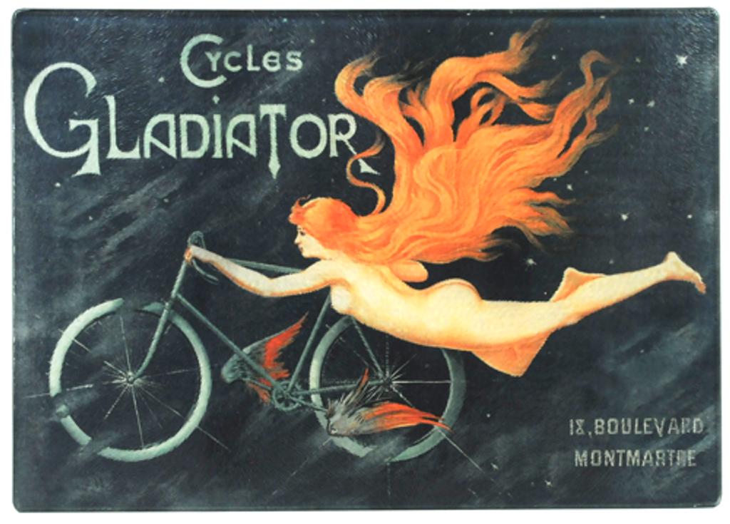 Cycles Gladiator Glass Cutting Bord