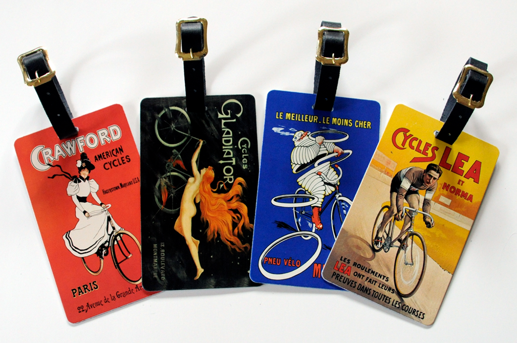 Poster Over Sized Luggage Tags