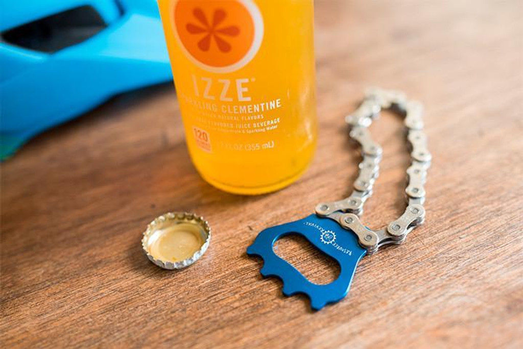 Bottle Opener - Recycled Bike Chain