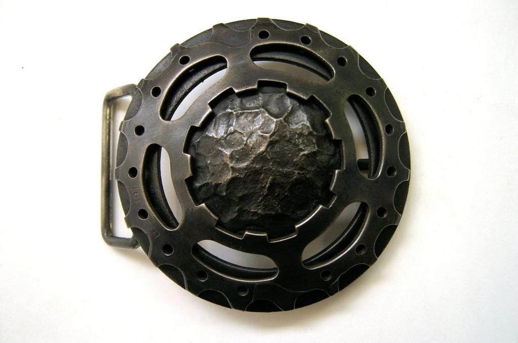Steel Satellite Belt Buckle