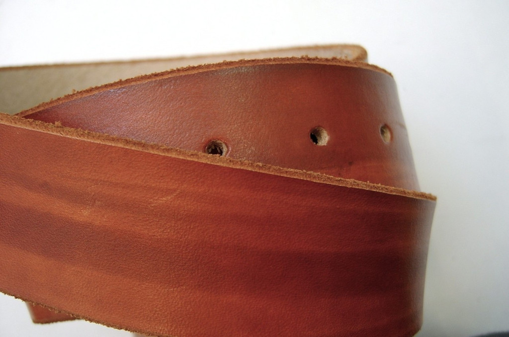 British Tan Leather Belt