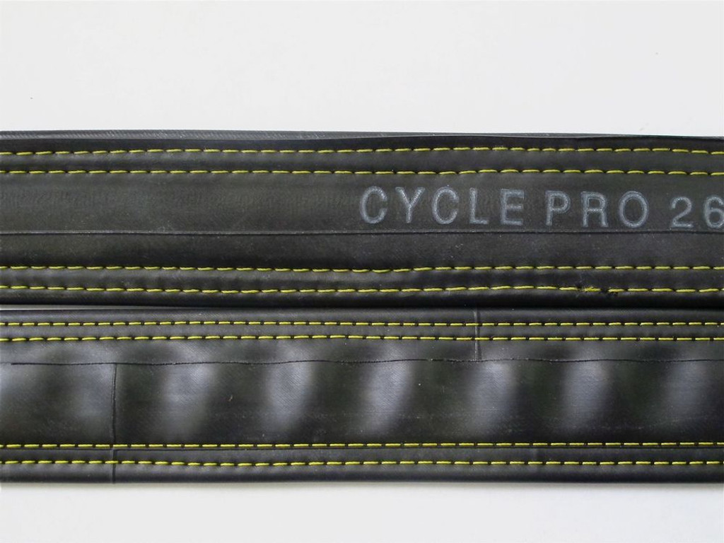 Recycled Bike Tube Belt