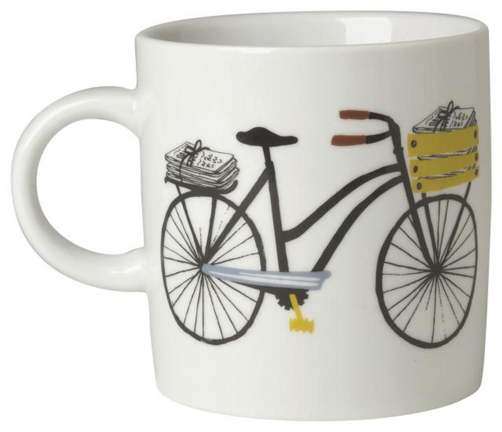 Bicicletta 12oz Mug by Danica