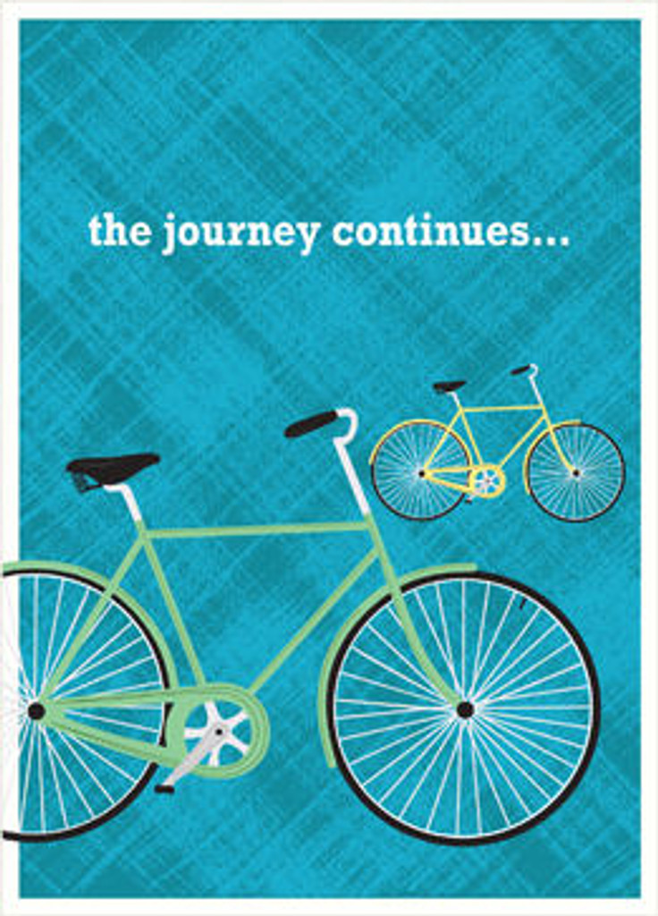 Birthday greeting card for any cyclist