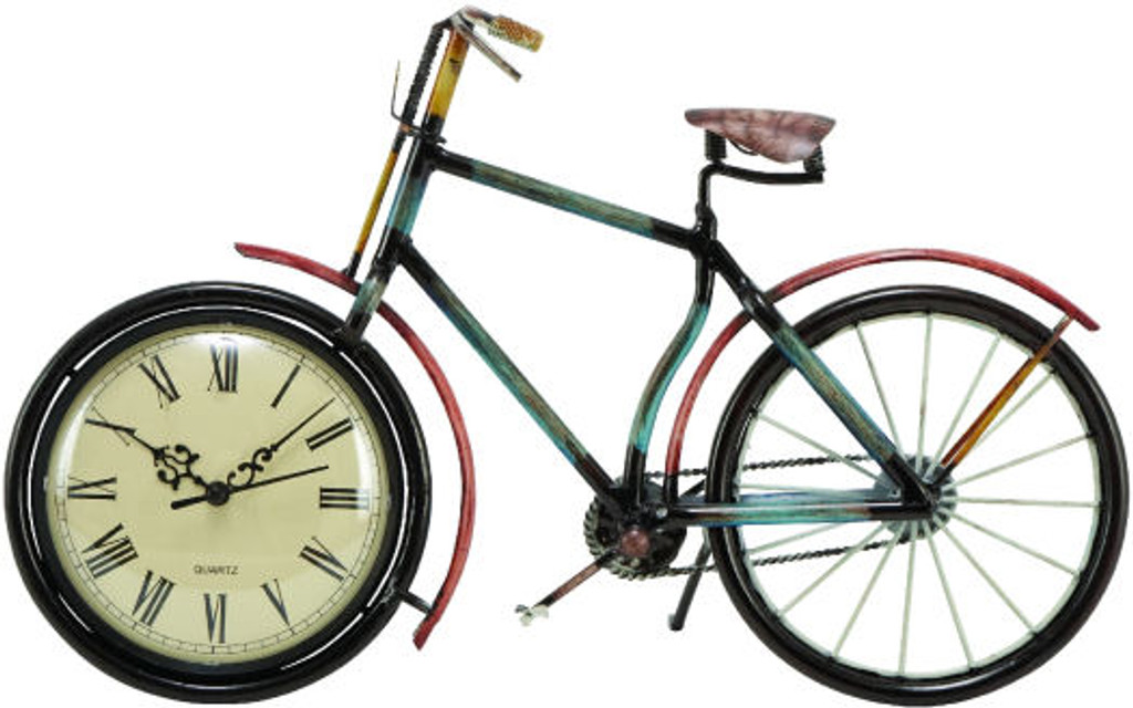 Beach Bike Clock
