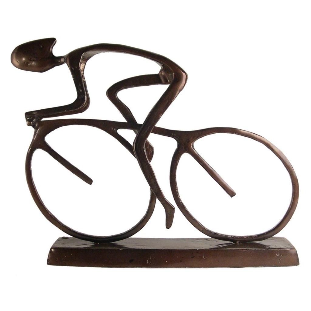 Contemporary Road Bike Sculpture