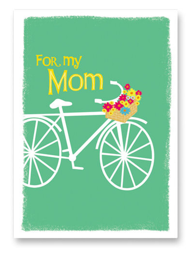 Mother's Day Bike Card Inside: Happy Mother's Day!