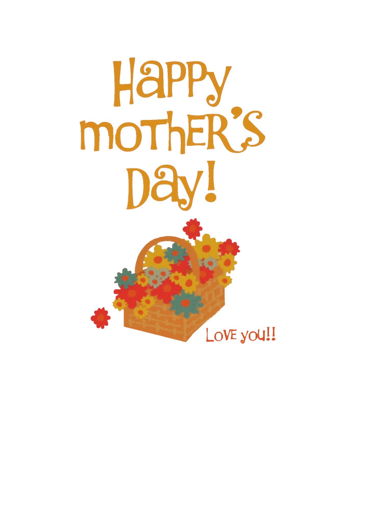 Mother's Day Bike Card