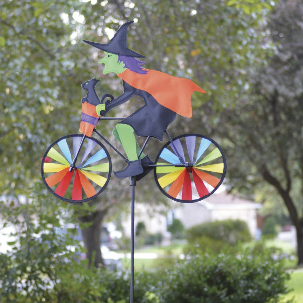 Halloween Witch Yard Spinner