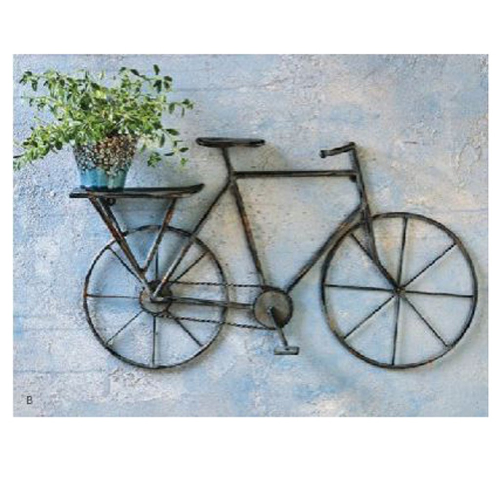 Bike Shelf Wall Art