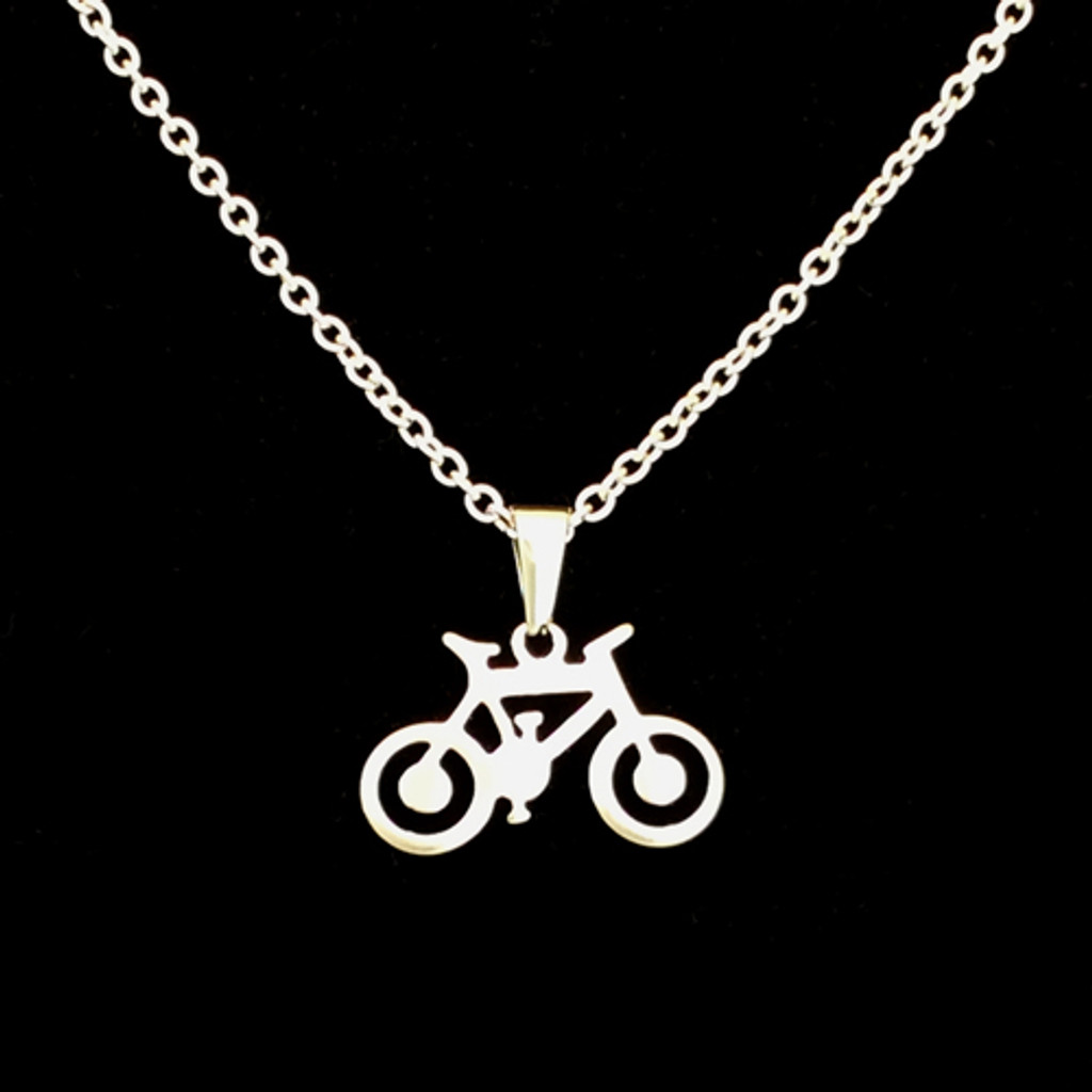 Stainless Steel Bicycle Pendant