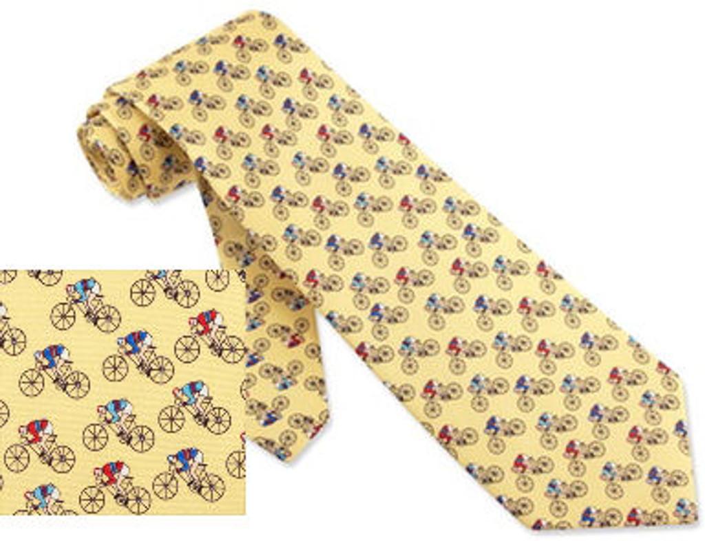Road Race Tie Yellow