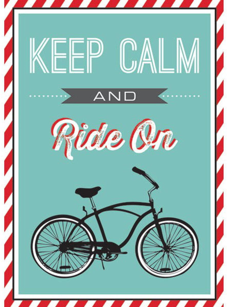 Encouragement Cycling Card