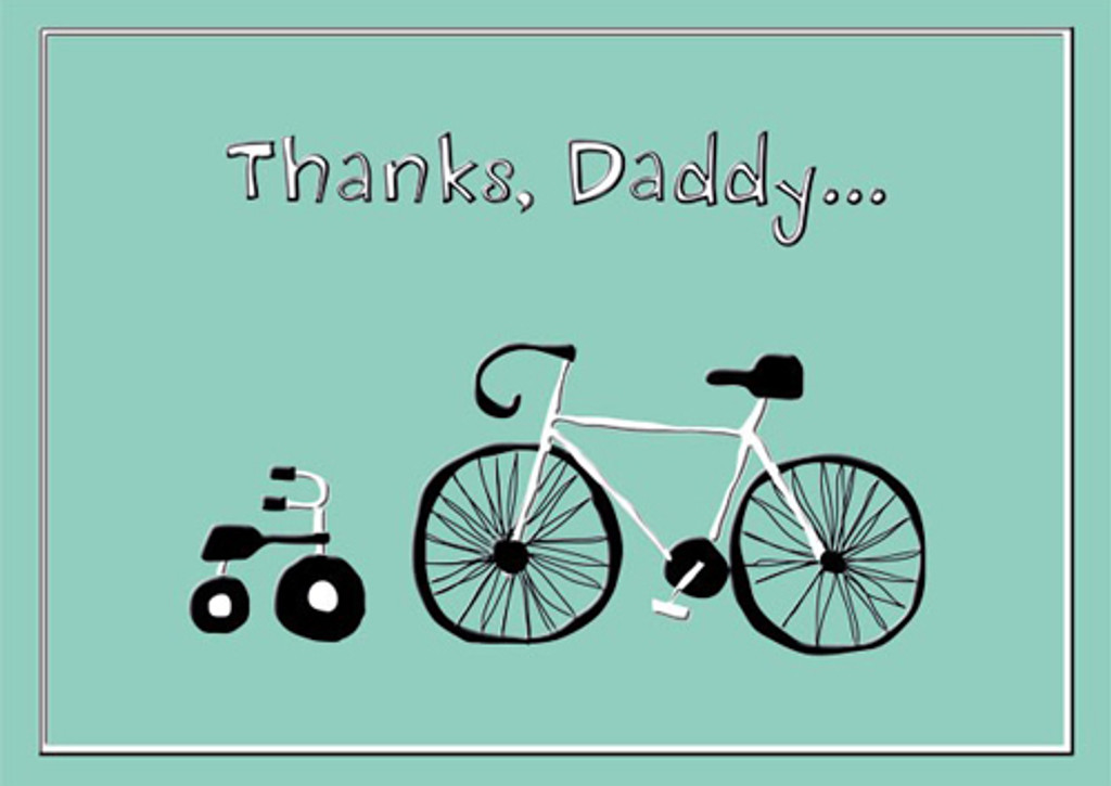 Thanks Daddy Fathers Day Card