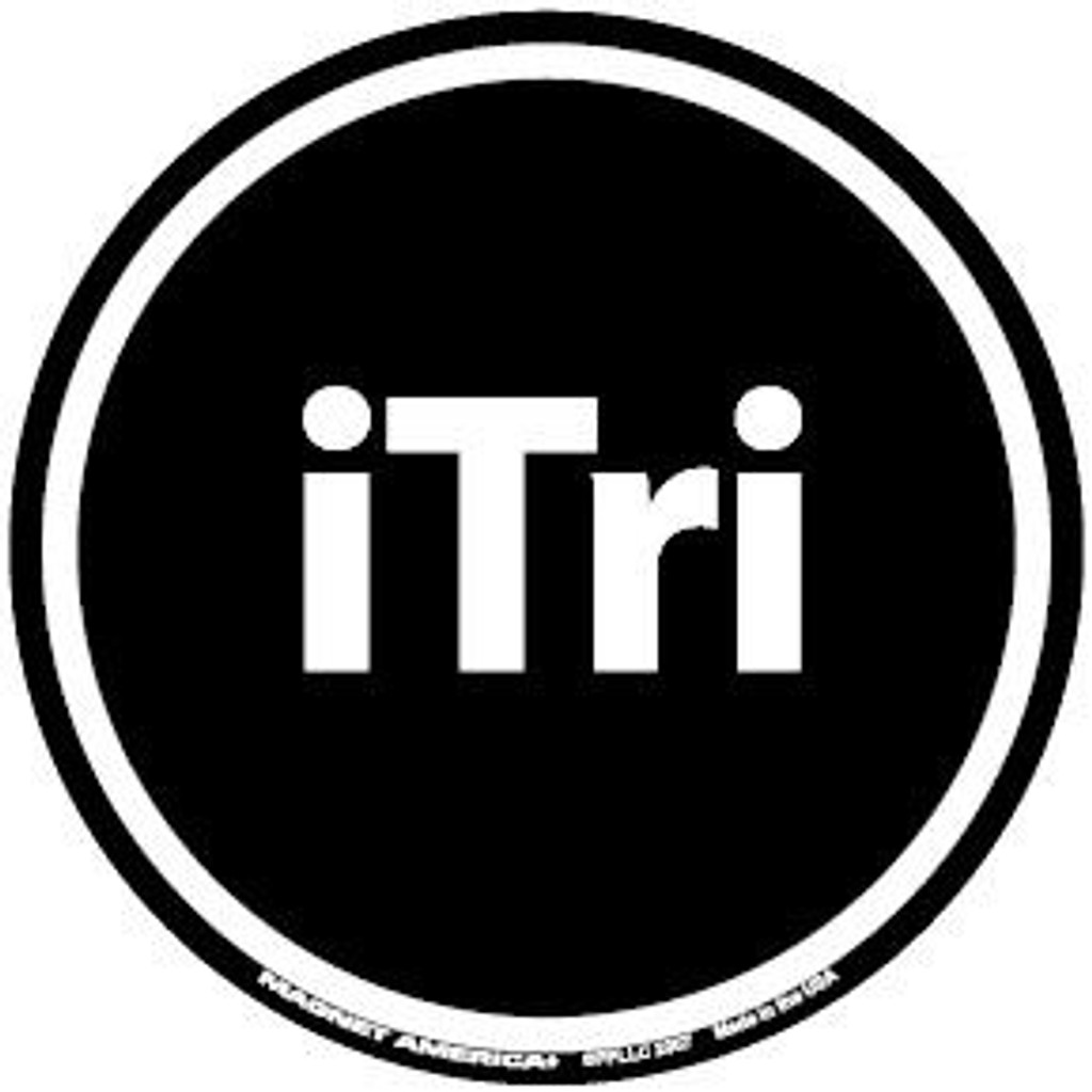 ITri Circle Magnet or Decal