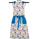 Bright Multi Bicycle Apron