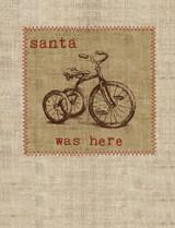 Holiday Santa was Here Boxed Cards