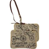 Adventure Awaits Canvas Bicycle Bag