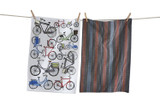 Bold bikes dishtowel set of 2