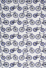 Navy Bikes Oversized Cotton Kitchen Towel