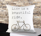 Beautiful Ride Pillow