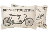 Better Together Tandem Pillow