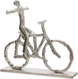 Free  Spirit Cyclist Sculpture