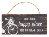 Lightweight Mini Hanging Bike Sign 6 designs