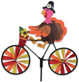 """20"""" Turkey on Bicycle Spinner"""