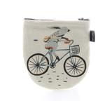 Wild Rabbit Cyclist Half Moon Pouch
