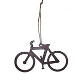 Rustic Iron Bike Ornament