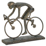 Single Cyclist Sculpture
