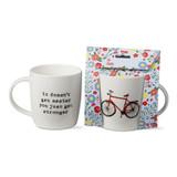 You Get Stronger Giftable Bike Mug