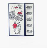 Triathlon Encouragement Card