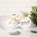Be Yourself Desktop Bike Shape