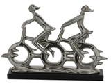 Contemporary Silver Joy Ride Sculpture