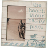 Beach is our Happy Place Bike Frame