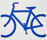 Blue Bike Swedish Wash Towel