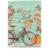 Green Fall Bike Flag