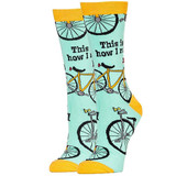 How I Roll Women's Bicycle Sock