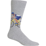 Men's Cyclist on Bike Sock