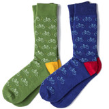Road Bike Colorful Dress Socks