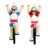 I Did It Bicycle Rider Ornament
