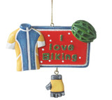 I Love Biking Ornament