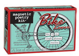 Bike Lover Magnetic Poetry Box